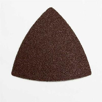 Multi Tool Triangular Delta Sanding Pad and Papers 60-240 Grit 5-25 sheets