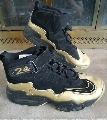 f69bfb5927 Vintage Nike Air Ken Griffey Jr Max 1 Seattle Mariners MLB Gold Mens Size  8.5