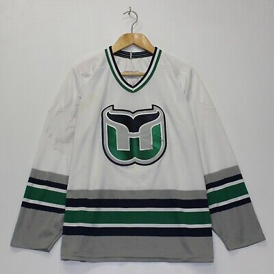 0fe86e4a631 VINTAGE WHALERS HOCKEY Jersey Men XXL Blue green grey White Tackla ...