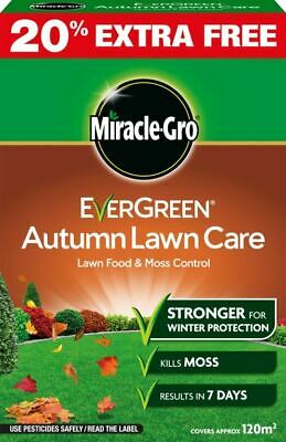 Miracle-Gro Evergreen Autumn Lawn Care 100m2 + 20% Extra  Lawn Food 119698