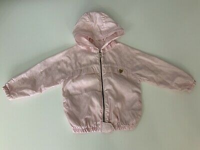 16daf431c GUCCI BABY GIRLS White Belted Down Feather Ski Jacket 9m/12m Made in ...