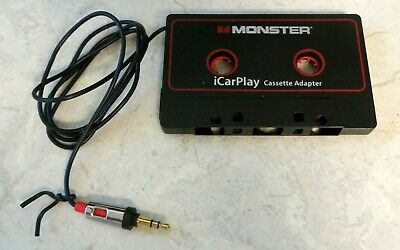 Monster iCarPlay Cassette Adapter 800 for iPod and iPhone and more