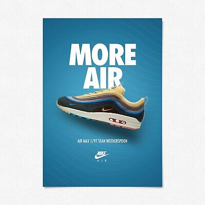 NIKE AIR MAX Day Sean Wotherspoon 97 poster art print LTD A4