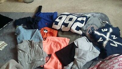 Boys   bundle Age 10  summer .holiday next / ralph Lauren /nike 13 items