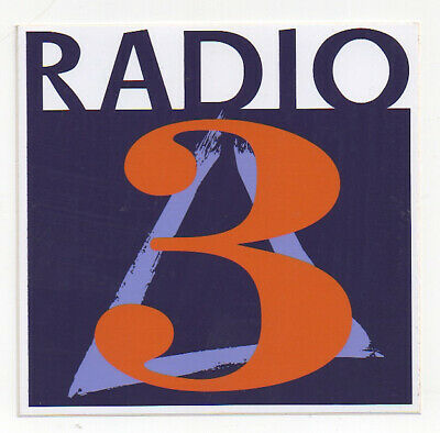 sticker autocollant radio entertainment - RADIO 3