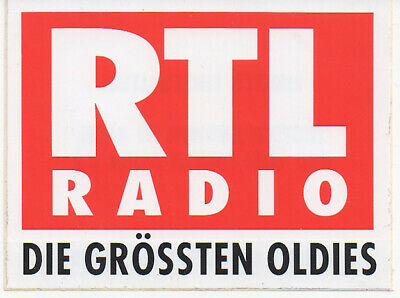 sticker autocollant radio entertainment - RTL RADIO die grossten oldies