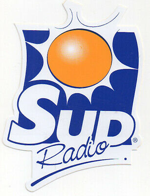 sticker autocollant radio entertainment - SUD RADIO