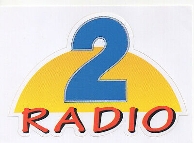 sticker autocollant radio entertainment - RADIO 2
