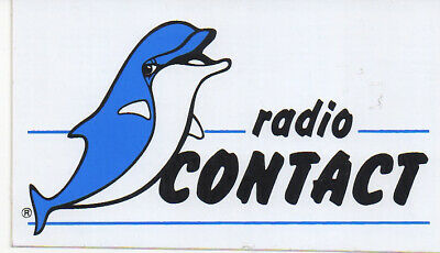 sticker autocollant radio entertainment - RADIO CONTACT