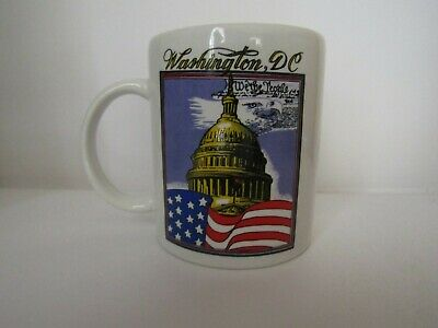 Washington DC United States Capitol Great Seal of the United States Coffee Cup