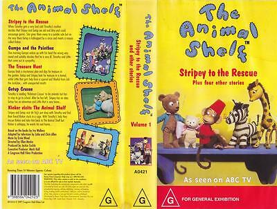 Abc The Animal Shelf Stripey To The Rescue A Rare Find  ~Vhs Video Pal