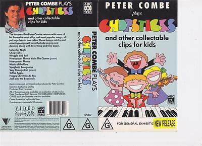 The Very Funny Peter Combe Chopsticks Vhs Pal~ A Rare Find