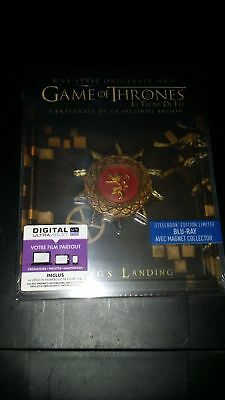 GAME OF THRONES  STEELBOOKS saisons 1-2-3-4