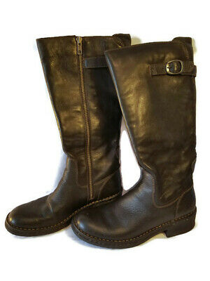 2c5c7086e Born Equestrian Horse Riding Boots Womens 6.5 M Horse on Sole Excellent  Cond!