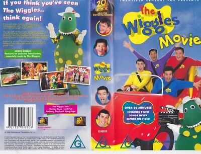 The Wiggles  The Wiggle Movie Vhs Video Pal~ A Rare Find