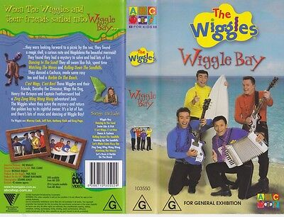 The Wiggles Wiggle Bay Vhs Video Pal~A Rare Find~
