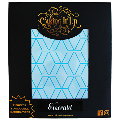 Caking it Up Stencil – Emerald stencil