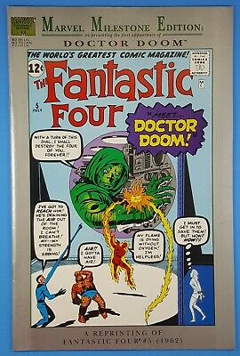 Marvel Milestone Edition Fantastic Four #5 First Appearance of Doctor Doom!
