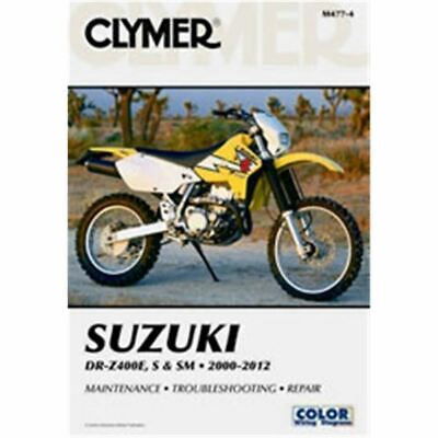 Clymer Dirt Bike Manual - Suzuki DR-Z400E, S & SM - SUZ DR-Z 400 2000 -