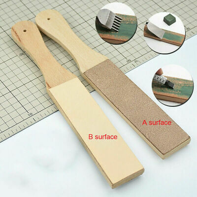 Two Sided Leather Strop Sharpener Tool for Sharping All Kind Of Blades & Razors