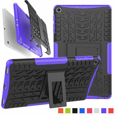 For Samsung Galaxy Tab A 10.1 SM-T510 2019 Rugged Armor Shockproof Stand Case