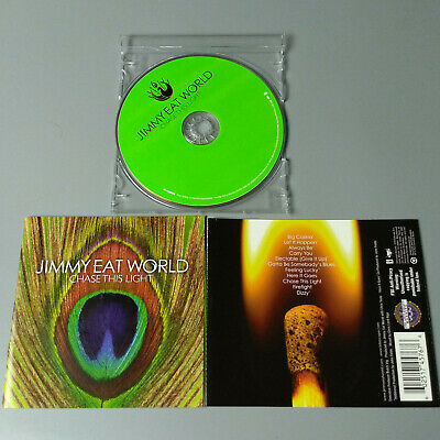 Jimmy Eat World - Chase This Light 2007 USA CD Emo VG #1276