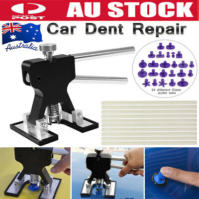 35pcs Car Paintless Dent Repair Tool Dint Hail Damage Removal Puller Lifter AU