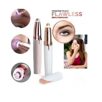Electric Instant Hair Remover Trimmer For Eyebrow Skin Painless Face Epilator