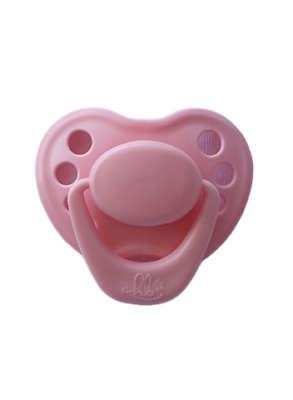 Honeybug Sweetheart Design Magnetic Dummy Piggy Pink Reborn Baby