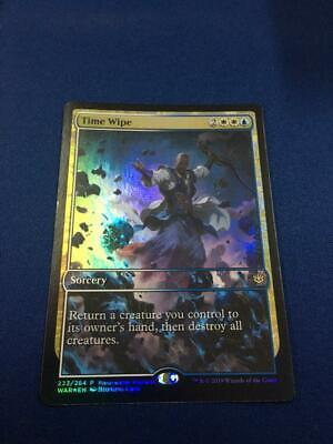 Time Wipe FOIL Planeswalker Weekend Promo Ships Immediately