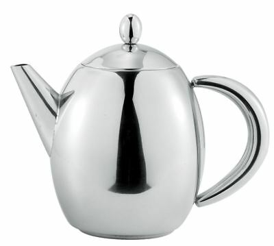 Benzer - Hotello Polished Steel Tea Pot 500ml 3 Cup