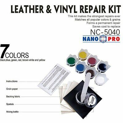 Leather Refinish and Restorer Kit Car Seat Leather Sofa Repair Scratches Tool