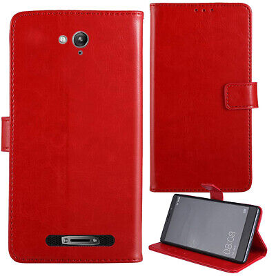 Premium Flip Leather Case Stand Wallet Cover For Blackview BV8000 Pro 4G 5 inch