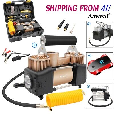 50/60L/min 150PSI Air Compressor 4x4 Car 12V 4WD Tyre Tire Inflator Pump Aaweal
