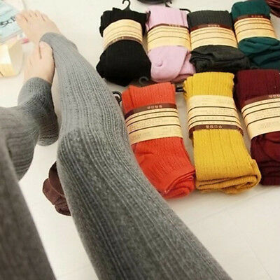 Womens Winter Warm Thick Fleece Lined Thermal Stretchy Slim Fit Leggings Pants