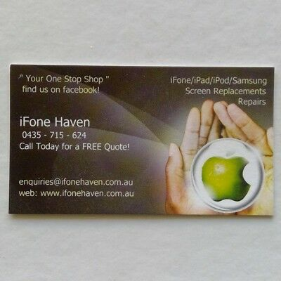 iFone Haven 0435715624 Business Card