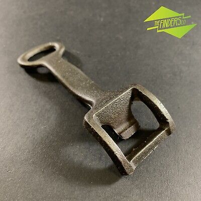 Vintage Cast-Iron Bottle Opener Stove Hot Plate Lifter Antique Tools Rustic