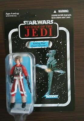 Star Wars Vintage Collection B-Wing Pilot (VC63) Unpunched Hasbro