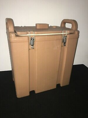 Cambro Tan Insulated Soup/Beverage Carrier 350LCD 3.3/8 Gallon Capacity. #1F