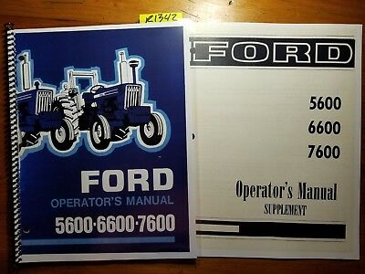 NEW HOLLAND FORD- 2600 3600 4100 4600 5600 5900 6600 6700 7600 7700 on