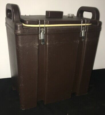 Cambro Brown Insulated Soup/Beverage Carrier 350LCD 3.3/8 Gallon Capacity. #1M