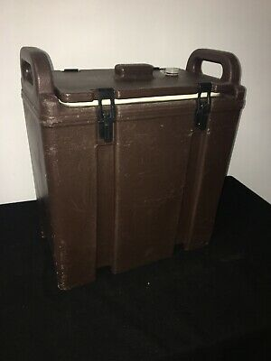 Cambro Brown Insulated Soup/Beverage Carrier 350LCD 3.3/8 Gallon Capacity. #1N