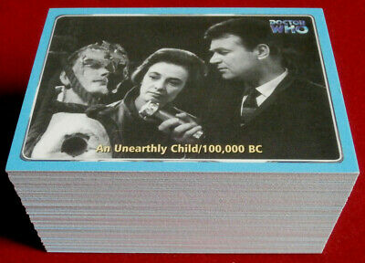 DR WHO DEFINITIVE COLLECTION SERIES ONE - MASSIVE BASE SET (120 cards) - 2000