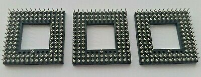 IC Socket 114 pin,  PGA Socket, through hole, 2.54 pitch. Free Postage.