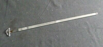 "Ace Glass Paddle Type 17"" Ground Glass Stirring Shaft, 432mm x 10mm, Damage 8068"