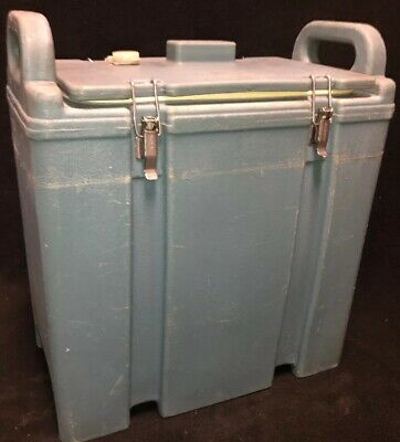 Cambro Blue Insulated Soup/Beverage Carrier 350LCD 3.3/8 Gallon Capacity. #1T