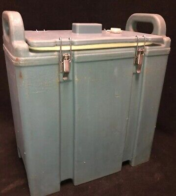 Cambro Blue Insulated Soup/Beverage Carrier 350LCD 3.3/8 Gallon Capacity. #1U