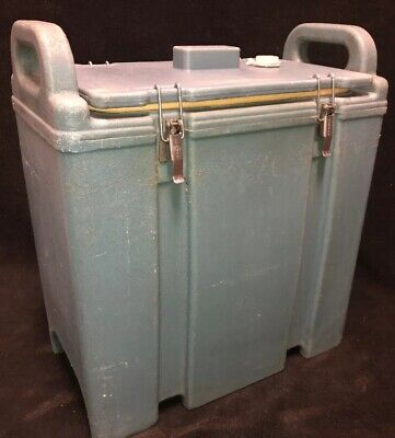 Cambro Blue Insulated Soup/Beverage Carrier 350LCD 3.3/8 Gallon Capacity. #1V
