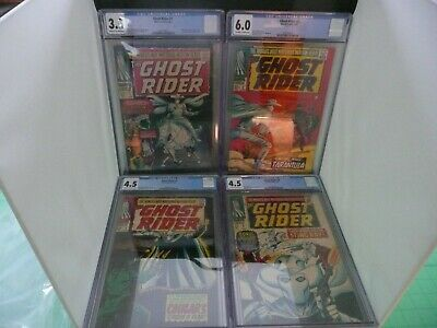 GHOST RIDER #1 CGC 6 0 FN 1967 Silver Age Marvel 1st Carter Slade