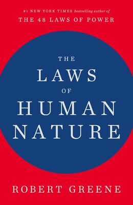 The Laws of Human Nature by Robert Greene ( READ DESCRIPTION )